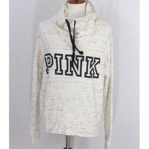 PINK by Victoria's Secret L Sweatshirt shawl neck